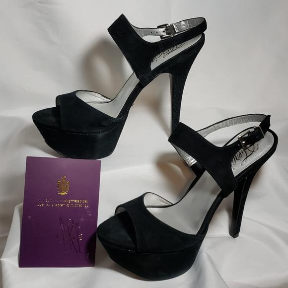 "Fergie 6"" platform heels"